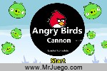 Juego Angry Birds Cannon