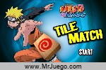 Naruto Tile Match