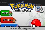 Juego Pokemon Tower Defense: Hacked