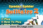 Play Spades Spider Solitaire 2
