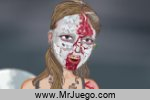 Zombie Girl Dressup